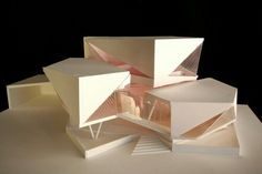 - 28 Trendy origami architecture concept – 28 Trendy origami architecture concept Sie sind an der r - Architecture Pliage, Architecture Origami, Maquette Architecture, Architecture Design, Architecture Model Making, Architecture Student, Futuristic Architecture, Sustainable Architecture, Amazing Architecture