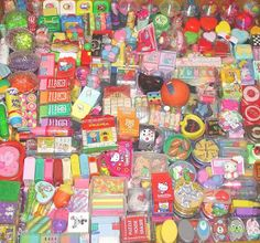 Strawberry Anarchy: My Collection of approx 7000 erasers/ rubbers
