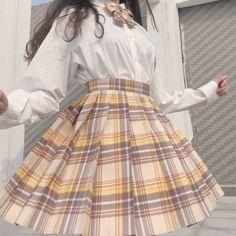 Kawaii Fashion, Cute Fashion, Fashion Outfits, Pastel Fashion, Fashion Skirts, Aesthetic Fashion, Aesthetic Clothes, Cute Casual Outfits, Pretty Outfits