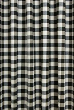 Darcy Black & White Made to Measure Curtains, from £114 per pair or £15 per metre.