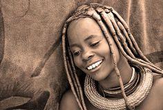 A Himba woman