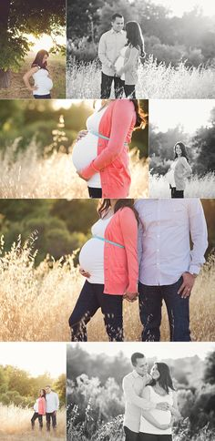 Maternity photoshoot... Love her outfit