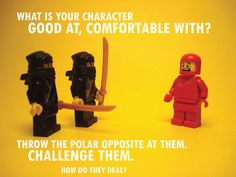 Pixars rules of storytelling - discomfort