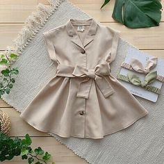 US Girl Princess Dress Kids Baby Party Pageant Casual Beach Wedding Dresses Baby Girl Frocks, Frocks For Girls, Kids Frocks, Dresses Kids Girl, Cute Little Girl Dresses, Baby Girl Frock Design, Baby Girl Dress Patterns, Baby Outfits, Kids Outfits
