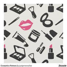Cosmetics Pattern Fabric