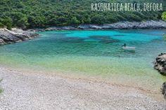 Hidden beaches on Korcula Island - Rasohatica Beach, Defora #korcula #explorekorcula #korculabeaches #croatiabeaches