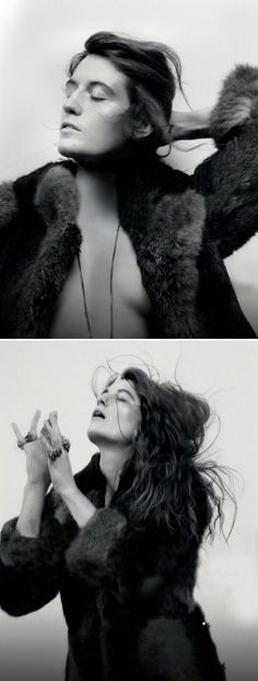 Florence Welch for LOVE Magazine