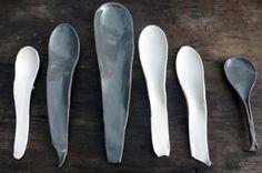Slab spoons.