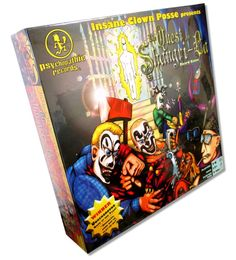 INSANE CLOWN POSSE QUEST FOR SHANGRI-LA BOARD GAME PSYCHOPATHIC ICP NEW RARE