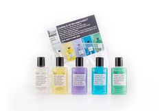 Not Soap, Radio Bath & Shower Gel Gift Set: perfect a a gift, for travel, or the gym, this exclusive Not Soap, Radio shower gel gift set is ideal for anyone on the go! The set includes various scents each infused with different herbal extracts that'll inspire you as you begin the New Year.