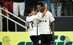 Gol de JÔ ! Corinthians 1 x 0 Santos - Campeonato Paulista 2017