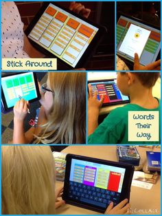 iPaddling through Fourth Grade-Encourage.Empower: Words Their Way - Spelling - Classroom Spelling And Handwriting, Spelling Homework, Spelling For Kids, Spelling And Grammar, Spelling Words, 3rd Grade Writing, 4th Grade Reading, 4th Grade Classroom, Classroom Ideas