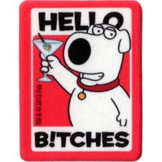 Family Guy Tech Tats HELLO BITCHES | Fox Shop $7.99
