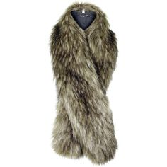 TOPSHOP Faux Fur Tonal Stole (€39) ❤ liked on Polyvore featuring accessories, scarves, brown, faux fur stole, brown scarves, topshop, fake fur stole and fake fur shawl