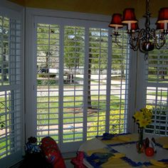 The Louver Shop Huntsville features truly custom plantation shutters. All Louver Shop shutters are made to fit any type or shape of window. The Louver Shop Huntsville AL offers countless options, colors and finishes. We match your shutters to your home d?cor, not the other way around. Kitchen, bath or other moisture prone areas? Try water resistant Louver wood shutters that look great and last.