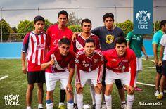 Escuela de Arquitectura, subcampeón del torneo de Fútbol Uruguayo. felicidades.