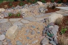 permeablE patio | permeable walkway surface with mixed materials allows water to ...