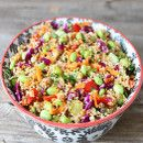 Ensalada de quinoa | #Receta de cocina | #Vegana - Vegetariana ecoagricultor.com
