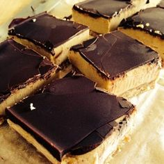 Raw vegan caramel slice. tastes just like a real one but no processed sugar, and no dairy.