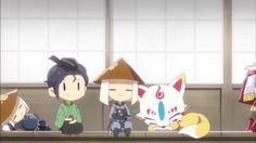 Touken Ranbu, Sword, Chibi, Anime, Doodles, Kawaii, Fan Art, Cute, Soldiers