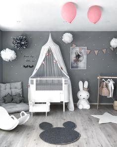 ❤best 45 minimalist kids bedroom ideas to inspire you today 38 Baby Bedroom, Baby Boy Rooms, Little Girl Rooms, Baby Room Decor, Girls Bedroom, Playroom Decor, Baby Playroom, Bedroom Ideas, Nursery Room Ideas