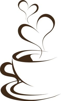 Hand Painted Brown Coffee Cup, Cup, Clipart PNG Transparent Clipart Image and PS. Coffee Cup Drawing, Coffee Cup Art, Coffee Cup Images, Coffee Cup Design, Coffee Painting, Coffee Coffee, Pencil Art Drawings, Art Drawings Sketches, Easy Drawings