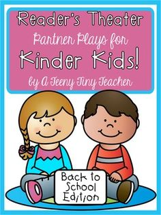 Reader's Theater - These plays can be used for centers, Language Arts activities, fluency practice, partner reading, etc. These plays are designed and created for beginning Kinder Kids. Five of the plays focus on letter identification (capital and lowercase) and the other five plays focus specifica...
