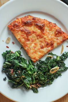 Side Dish Recipe for Pizza: Fiery Kale with Garlic and Olive Oil — Pick a Side! from Tara Mataraza Desmond