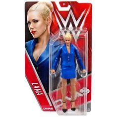WWE Lana wrestling figure Diva Mattel Basic new sealed Wrestling Superstars, Wrestling Divas, Figuras Wwe, Acton Figure, Lana Wwe, Wwe Toys, Wwe Action Figures, Kenny Omega, Wwe Elite