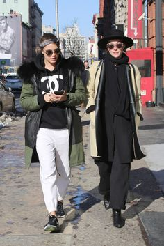 And their winter looks. | 17 Times In 2015 Cara Delevingne And Annie Clark Made You Believe In Love Again
