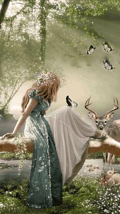 Ideas For Dark Love Art Fantasy Posts Beautiful Fantasy Art, Beautiful Fairies, Beautiful World, Beautiful Live, Fantasy Women, Dark Fantasy, Fantasy Girl, Elfen Fantasy, Art Amour