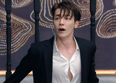 Donghae's shirt button is holding on for dear life Lee Donghae, Leeteuk, Kim Heechul, Siwon, Super Junior T, Donghae Super Junior, Handsome Prince, Handsome Boys, Btob