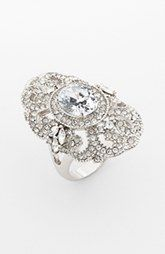 Ariella Collection Pave Cocktail Ring