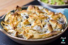 2 Syn Steak and Mushroom Pie | Slimming World - Pinch Of Nom