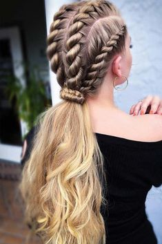 Top 60 All the Rage Looks with Long Box Braids - Hairstyles Trends Box Braids Hairstyles, Hairstyles Haircuts, Hairstyle Ideas, Wedding Hairstyles, Evening Hairstyles, Long Braided Hairstyles, Kids Hairstyle, Ethnic Hairstyles, Hairstyles Pictures