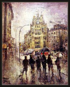 Ernest Descals.Artista Pintor: PINTURA-MANRESA-PAISATGES-CAN JORBA-HISTORIA-CATAL...