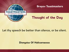 A quote by Dionysius Of Halicarnassus on being silent.