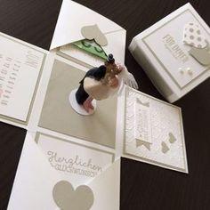 Bastel Workshop Explosionsbox Hochzeit Stampin Up