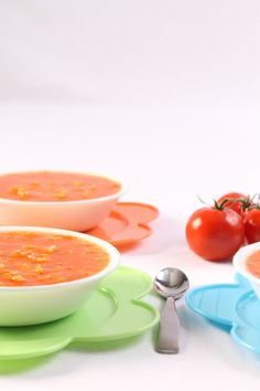 December 26, 2013 Tomato Rice Soup | Vicky Pearl