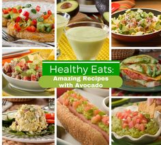 You can enjoy avocados all day long with these healthy and delicious avocado recipes!
