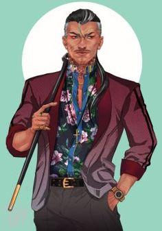 Commission: Custom Yakuza by ViciousJay