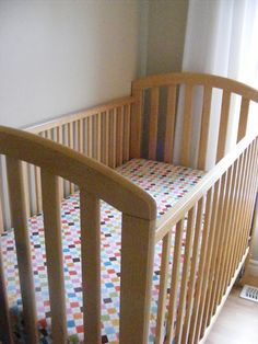Easy DIY Crib Sheets