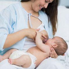 La subida de leche en la lactancia materna.