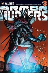 Preview of Four ARMOR HUNTERS Titles From Valiant Comics in August