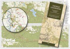 Trójkąt Lidzbarski - mapa / The Heilsberg Triangle fortifications map