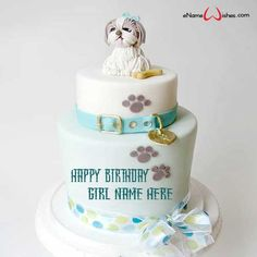 Write name on Birthday Cake with Name Generator with Name And Wishes Images and create free Online Girl Birthday Cakes And Wishes Images with name online. Unique Birthday Cakes, Birthday Wishes Cake, Novelty Birthday Cakes, Birthday Cake Girls, Happy Birthday Cakes, Princess Birthday, Birthday Card With Photo, Birthday Msgs, Birthday Cake Writing