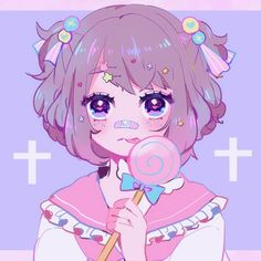 Anime pin deviantlyalways ☆ ☆ fσr thє lσvє σf αnímє ☆ in 2019 Anime art, Anime art girl, Kawaii art Anime Chibi, Kawaii Drawings, Cute Drawings, Gothic Kunst, Pastel Goth Art, Cute Art Styles, Poses References, Kawaii Art, Anime Art Girl