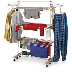 B4XAJ-307385 New MicroHearth Laundry Drying Rack