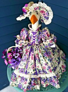 Goose Clothes, Color Themes, Pansies, Harajuku, Bunny, Handmade, Vintage, Outfits, Sewing