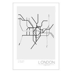 Graafisen tyylikkäät Underground-julisteet kuvaavat suurkaupunkien metroverkostoja. Julisteet valmistaa ruotsalainen Kreativitum ne ovat Linn Johanssonin och Karolina Gullbergin suunnittelemia.